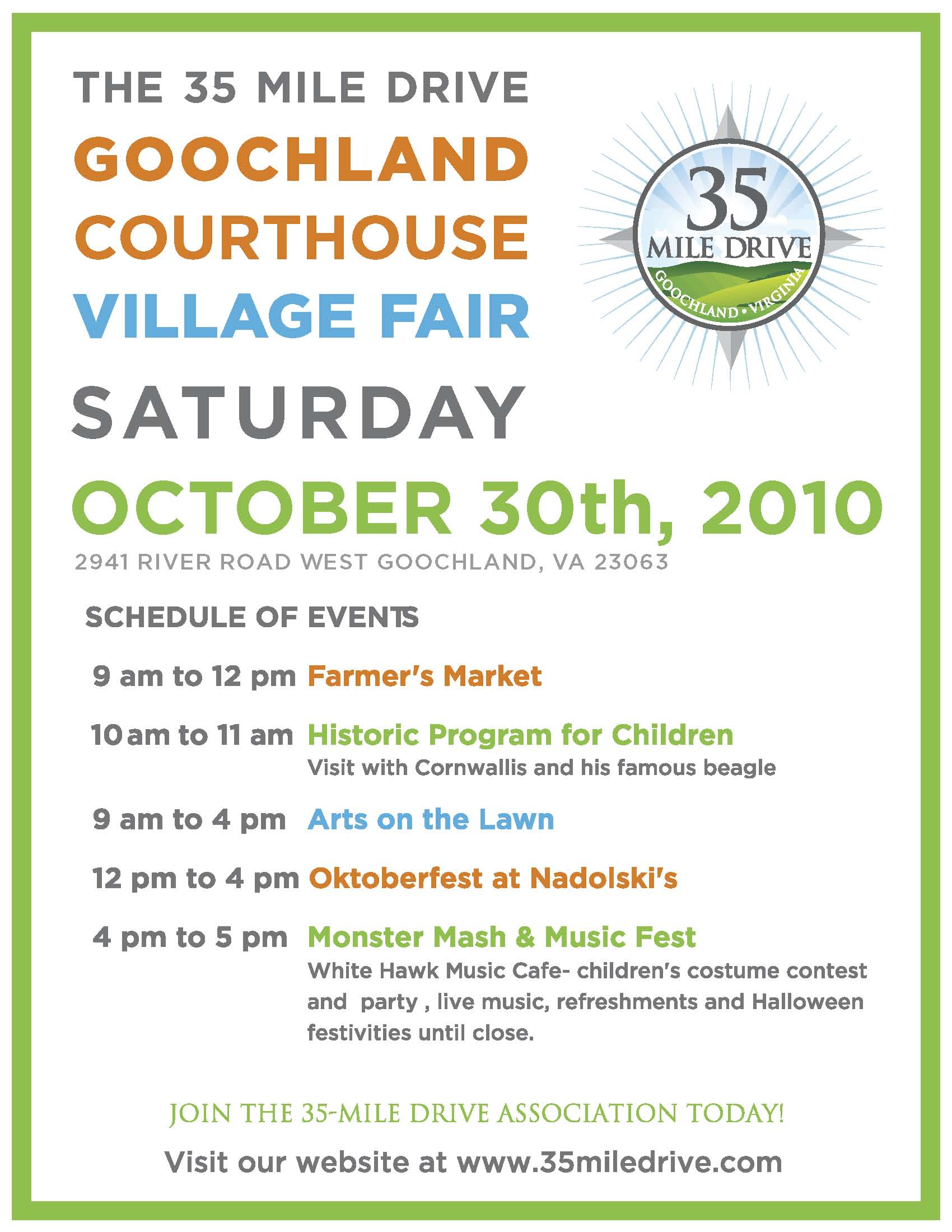 a village fair Come develop & launch a safety plan for your family this event  was planned in loving memory of michael lafave.