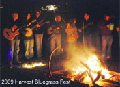 Pickin' Party Fireside at the Harvest Festival
